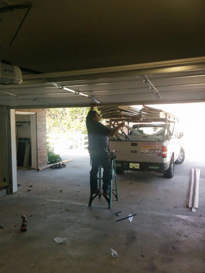 General garage door service and repair